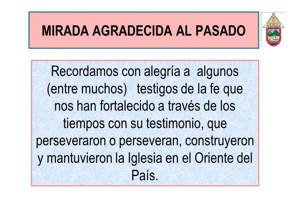 MIRADA AGRADECIDA AL PASADO