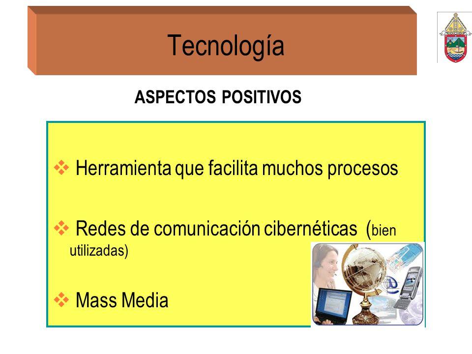 Tecnología Herramienta que facilita muchos procesos