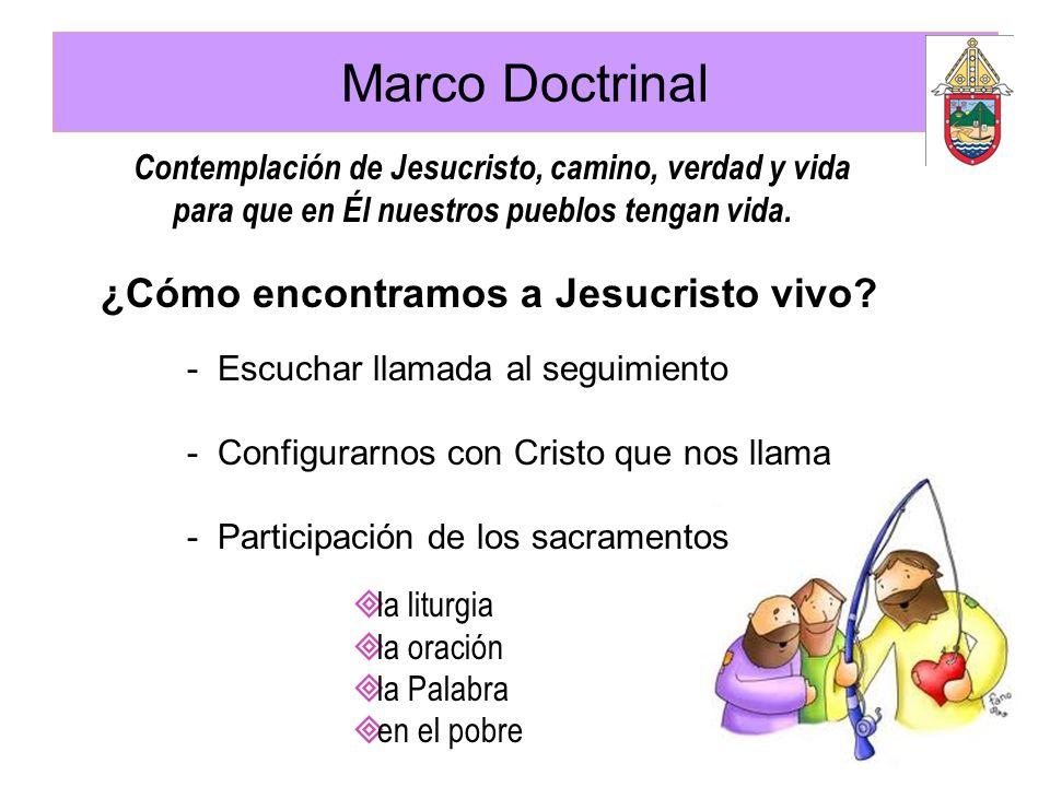 Marco Doctrinal ¿Cómo encontramos a Jesucristo vivo
