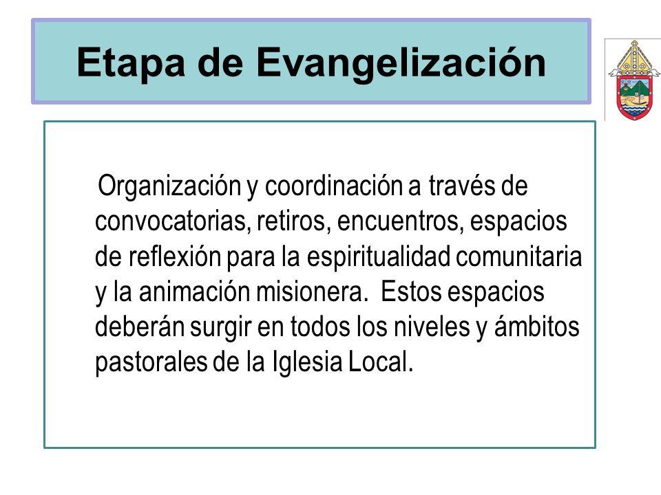 Etapa de Evangelización