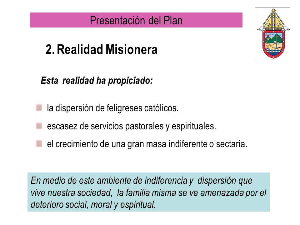 2. Realidad Misionera Presentación del Plan
