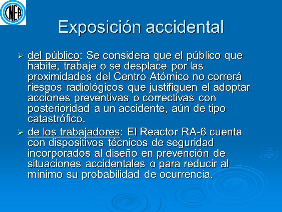 Exposición accidental