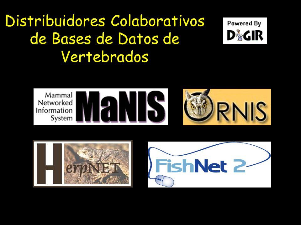 Distribuidores Colaborativos de Bases de Datos de Vertebrados