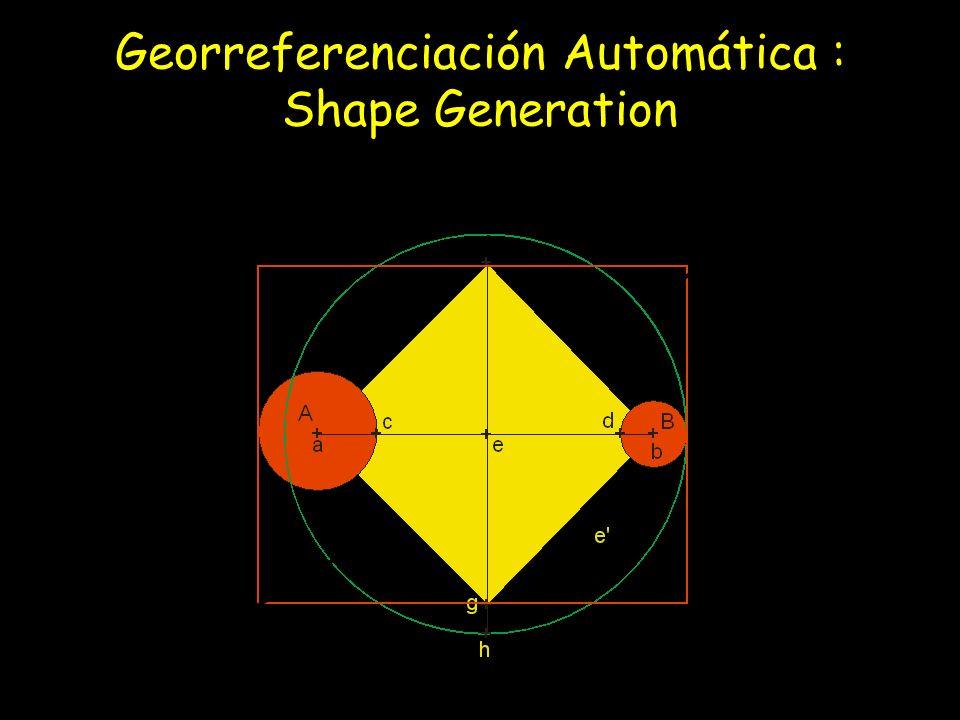 Georreferenciación Automática : Shape Generation