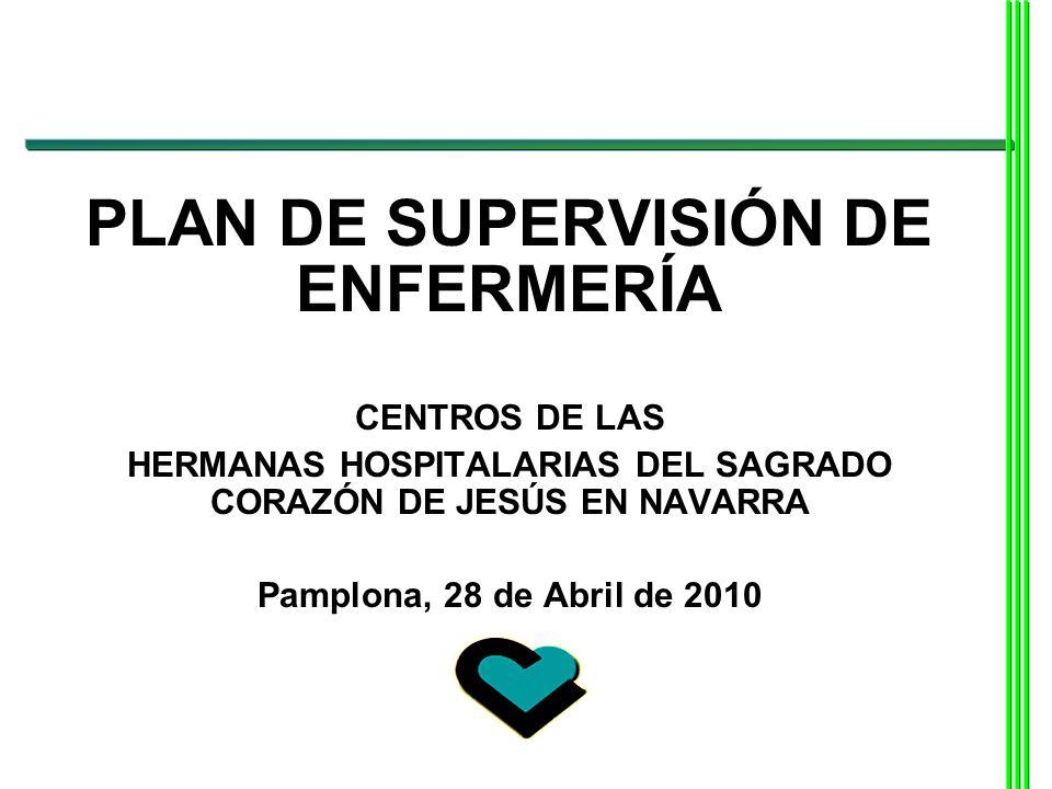 PLAN DE SUPERVISIÓN DE ENFERMERÍA