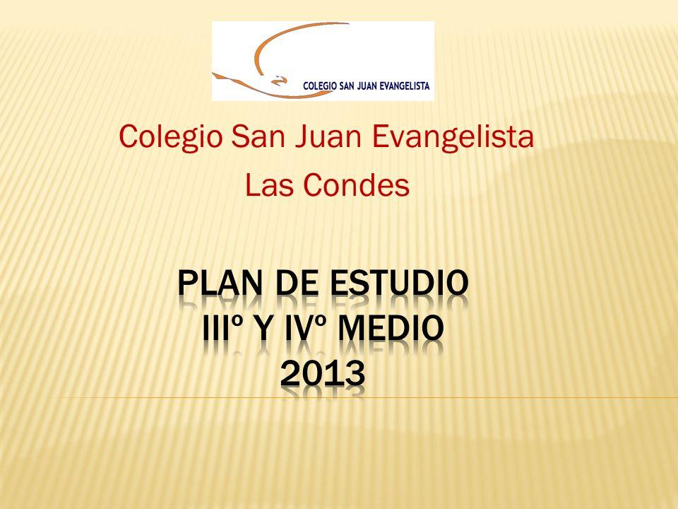 Plan de Estudio IIIº Y IVº Medio 2013