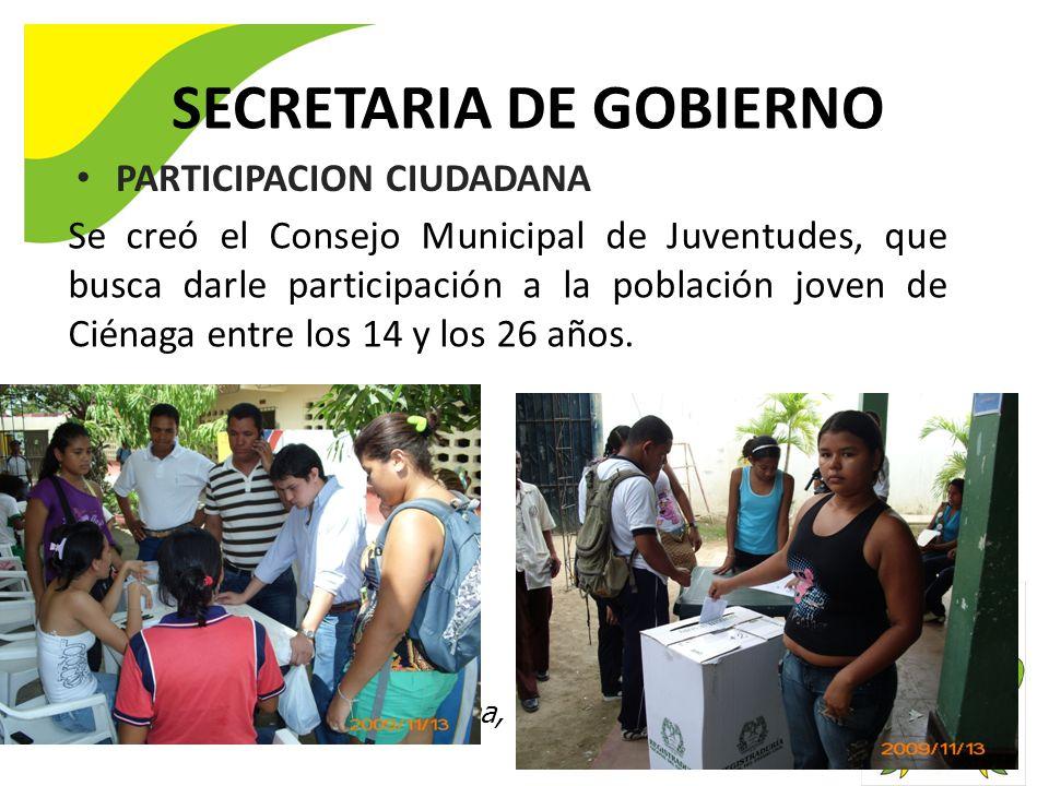 SECRETARIA DE GOBIERNO