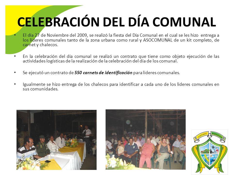 CELEBRACIÓN DEL DÍA COMUNAL