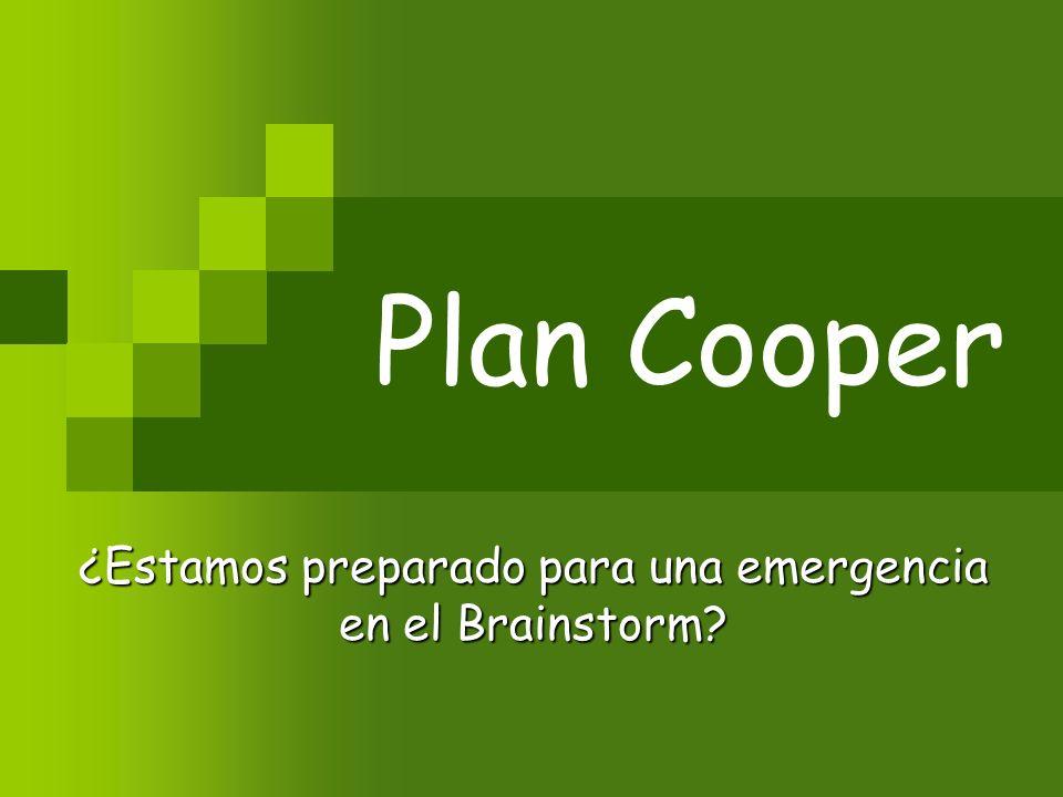¿Estamos preparado para una emergencia en el Brainstorm