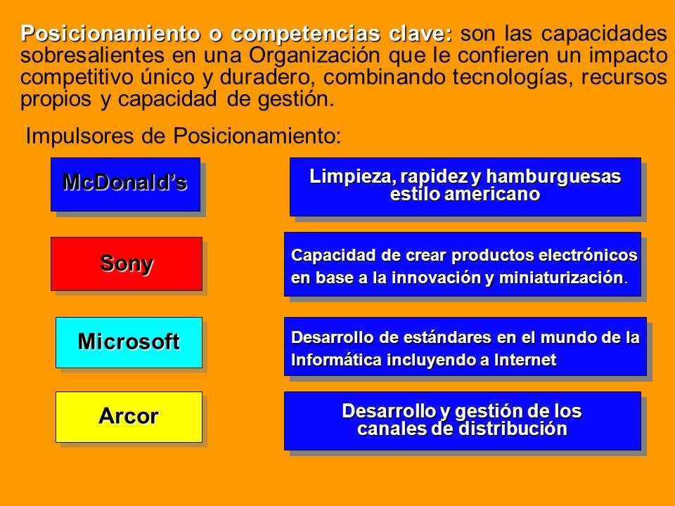 McDonald's Sony Microsoft Arcor