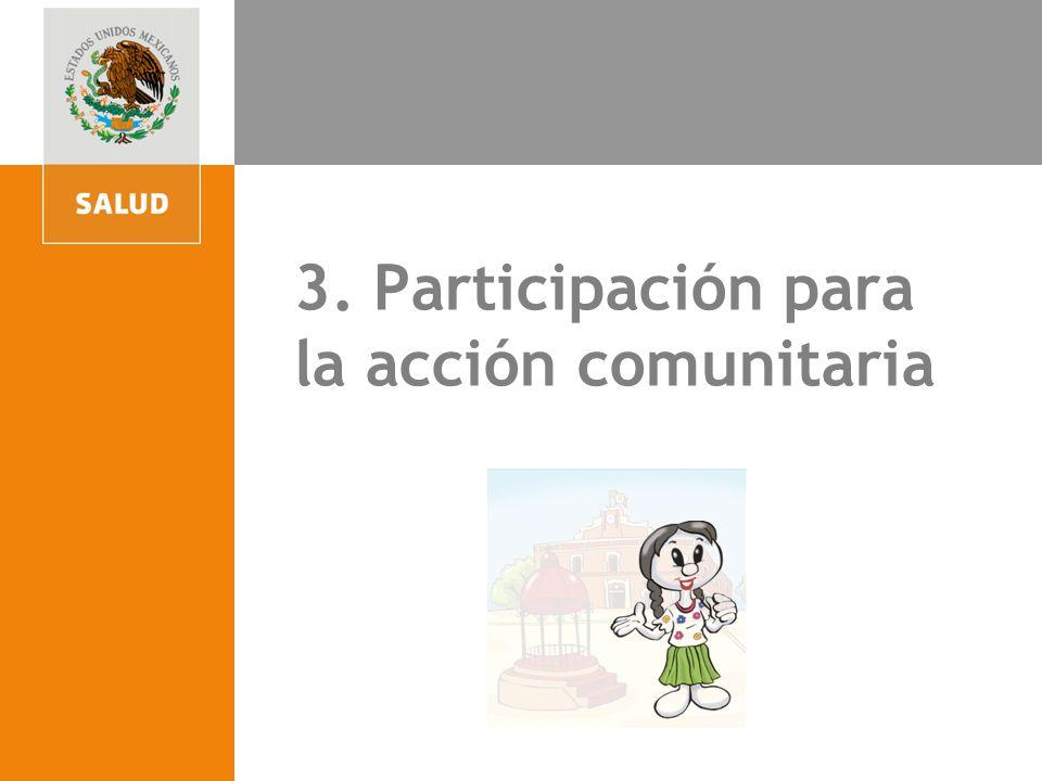 3. Participación para la acción comunitaria
