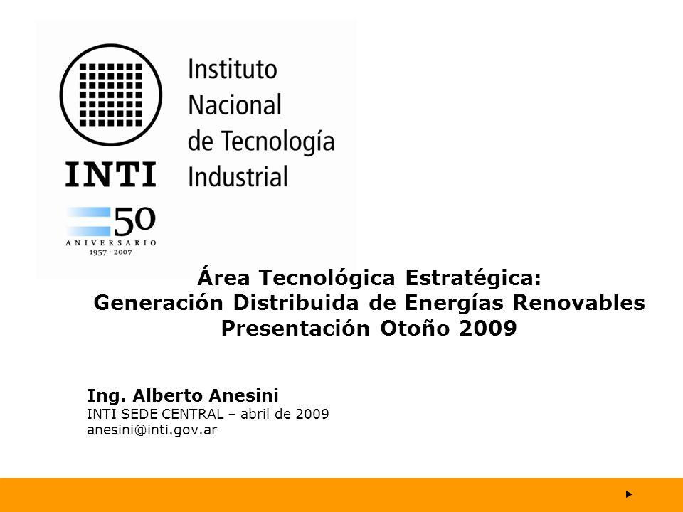 Área Tecnológica Estratégica: