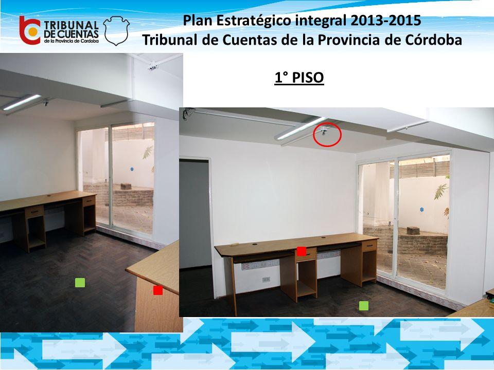 Plan Estratégico integral 2013-2015 Tribunal de Cuentas de la Provincia de Córdoba