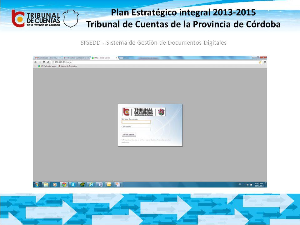 SIGEDD - Sistema de Gestión de Documentos Digitales