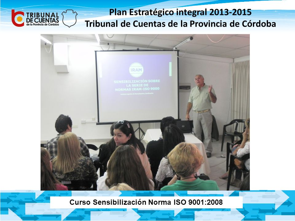 Curso Sensibilización Norma ISO 9001:2008