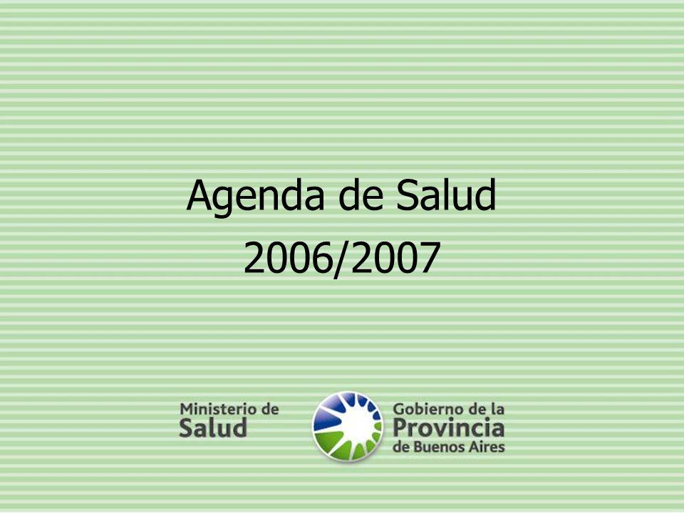 Agenda de Salud 2006/2007