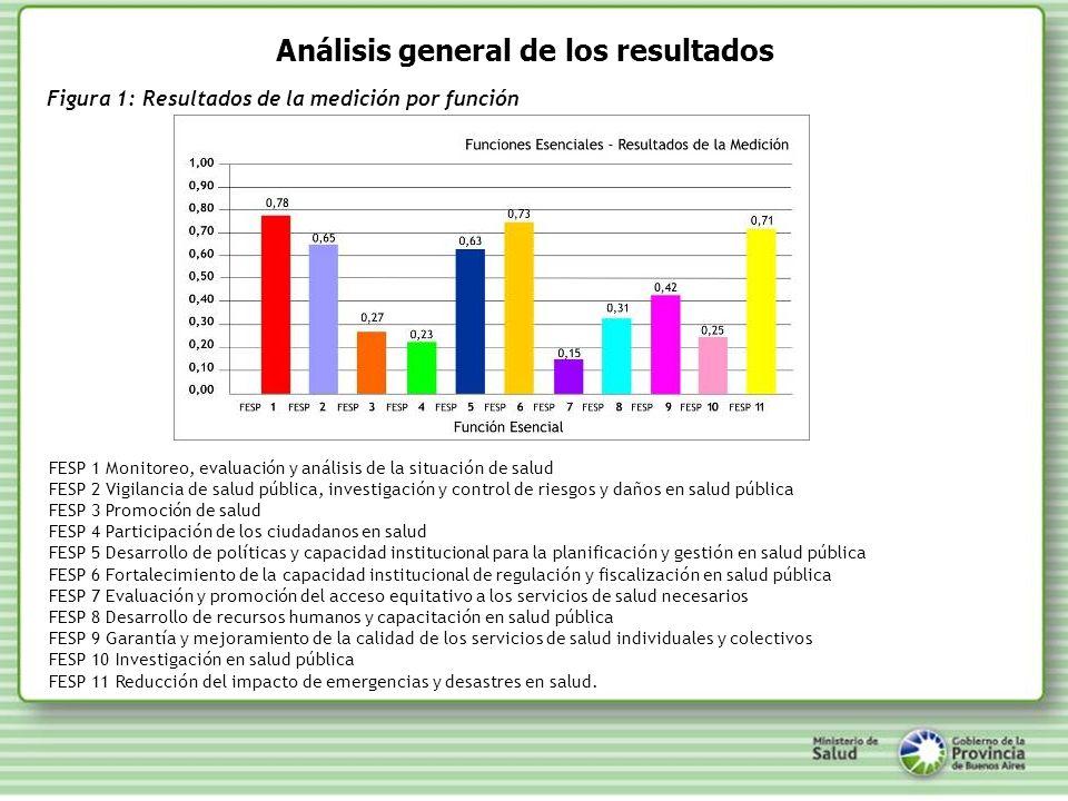 Análisis general de los resultados