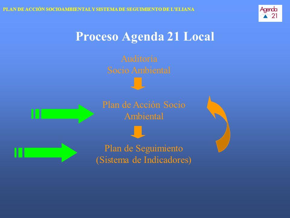 Proceso Agenda 21 Local Auditoría Socio Ambiental