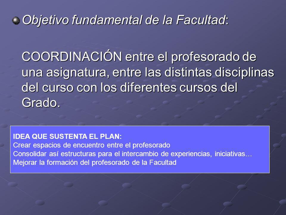 Objetivo fundamental de la Facultad: