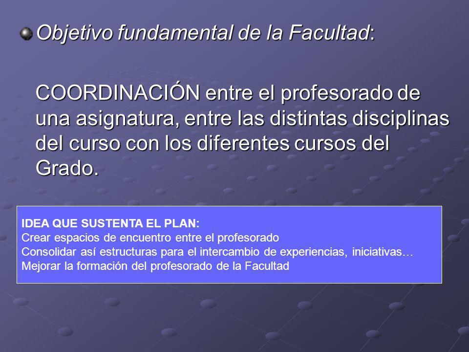 Objetivo fundamental de la Facultad: