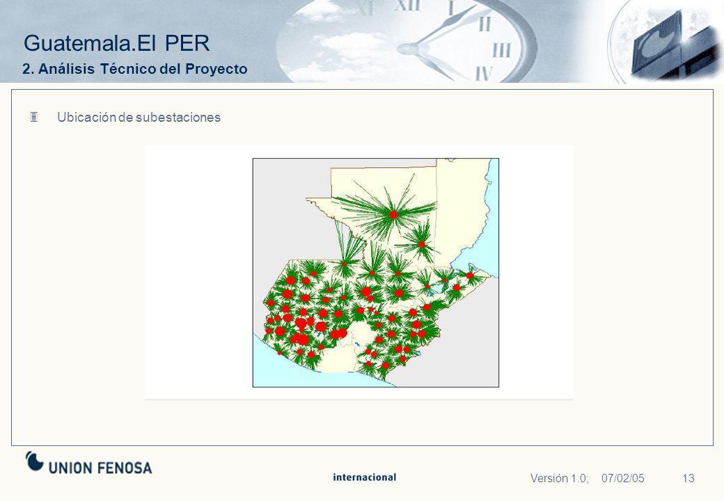 Guatemala.El PER 2. Análisis Técnico del Proyecto