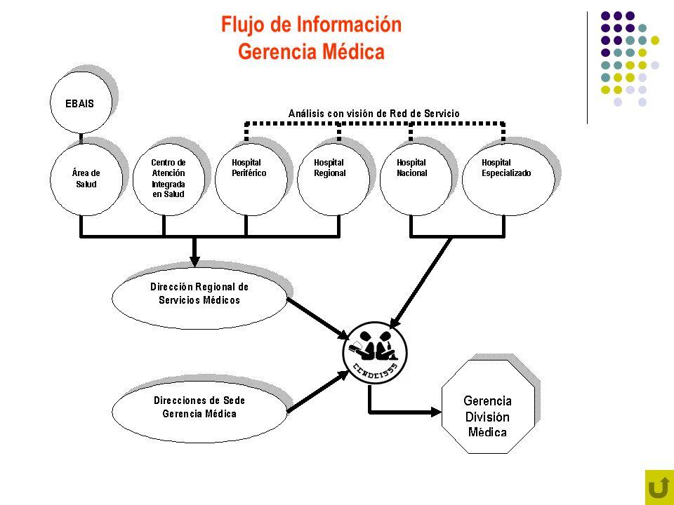 Flujo de Información Gerencia Médica