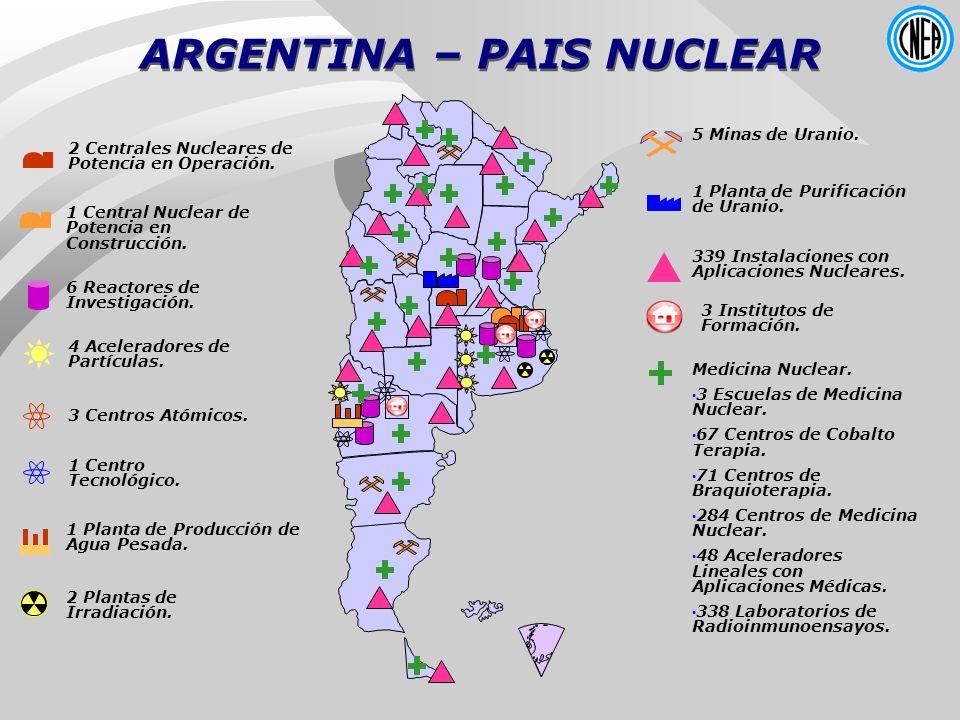 ARGENTINA – PAIS NUCLEAR