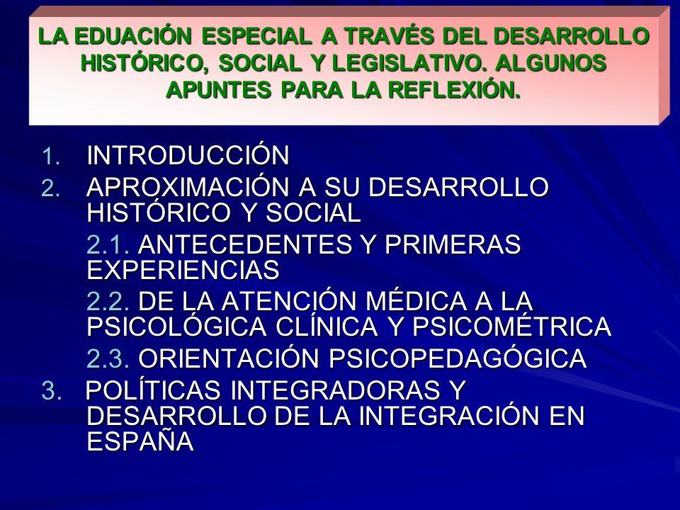 APROXIMACIÓN A SU DESARROLLO HISTÓRICO Y SOCIAL