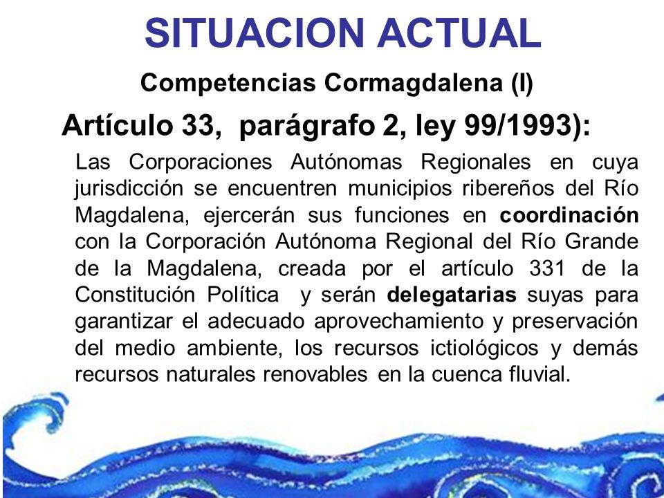 Competencias Cormagdalena (I)