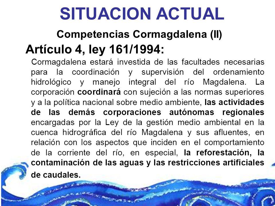Competencias Cormagdalena (II)