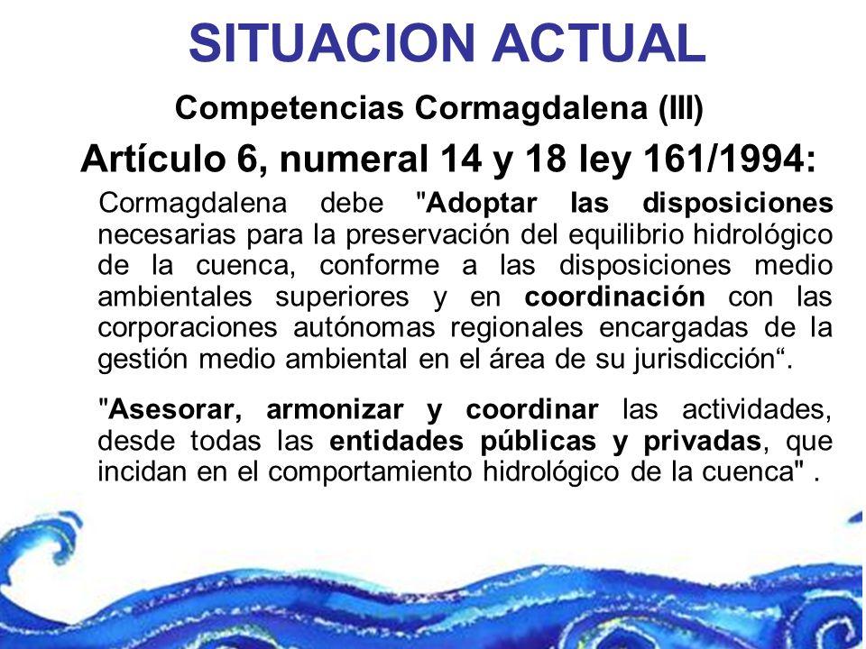 Competencias Cormagdalena (III)