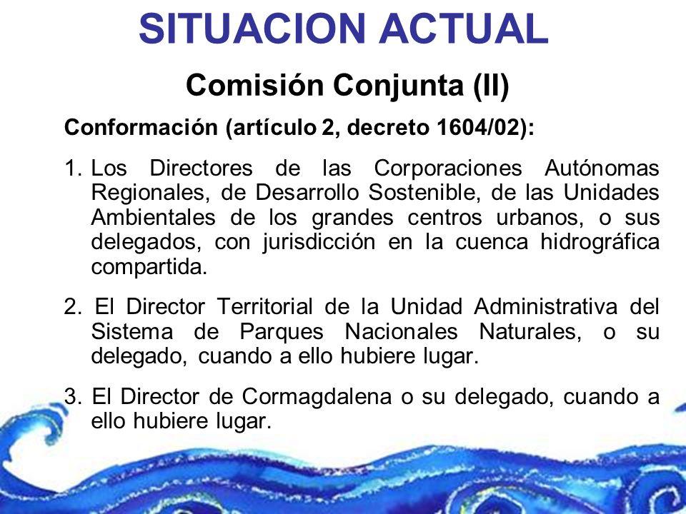 Comisión Conjunta (II)