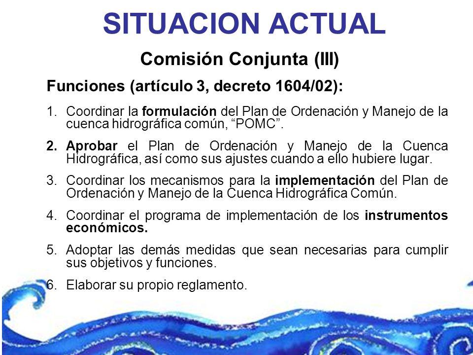 Comisión Conjunta (III)