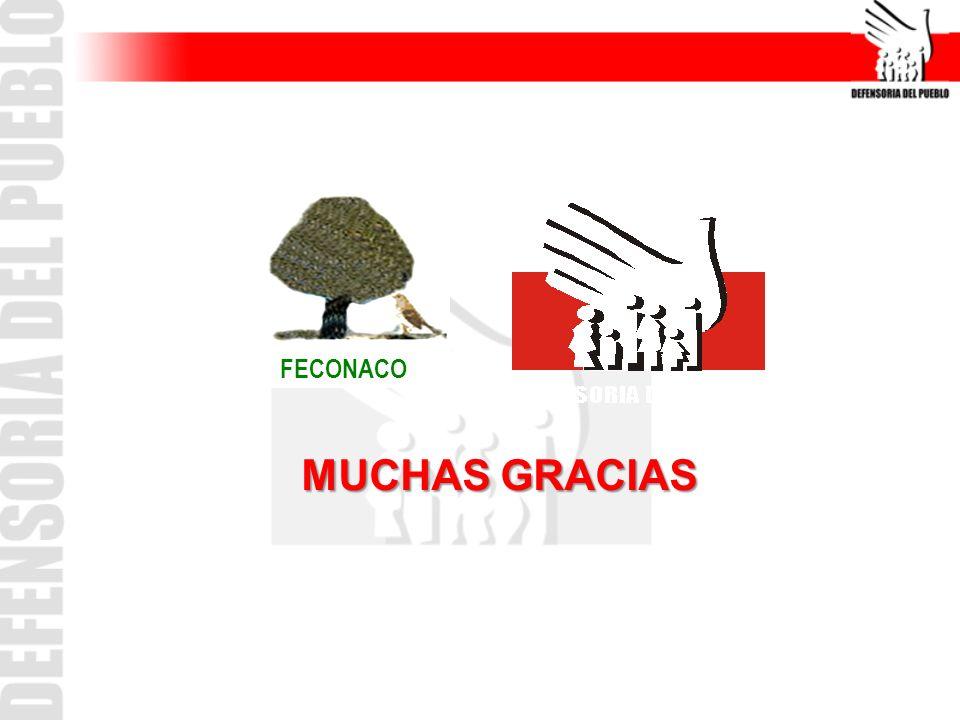 FECONACO MUCHAS GRACIAS