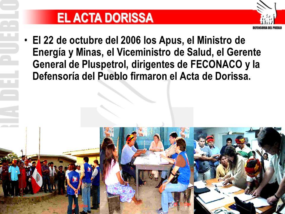EL ACTA DORISSA