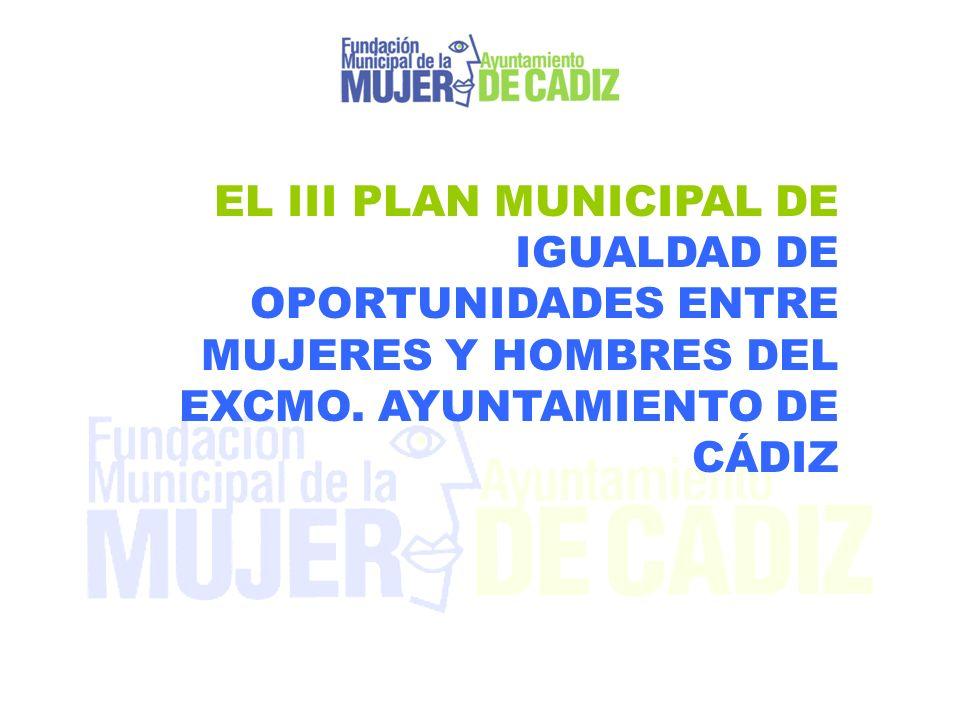 EL III PLAN MUNICIPAL DE IGUALDAD DE OPORTUNIDADES ENTRE MUJERES Y HOMBRES DEL EXCMO.
