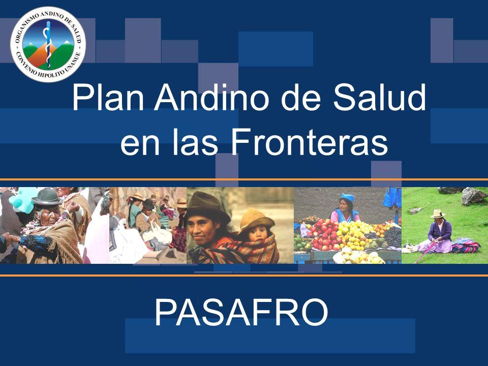 Plan Andino de Salud en las Fronteras PASAFRO