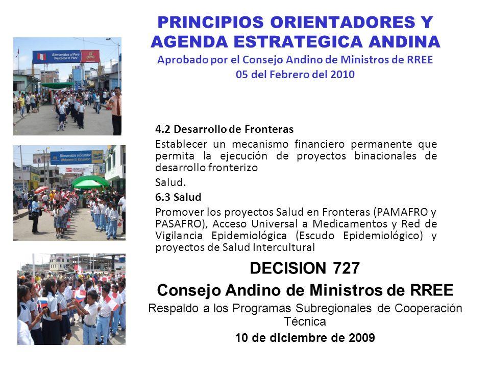 Consejo Andino de Ministros de RREE