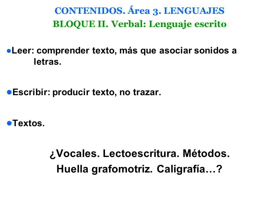 ¿Vocales. Lectoescritura. Métodos. Huella grafomotriz. Caligrafía…