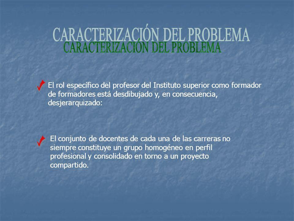 CARACTERIZACIÓN DEL PROBLEMA