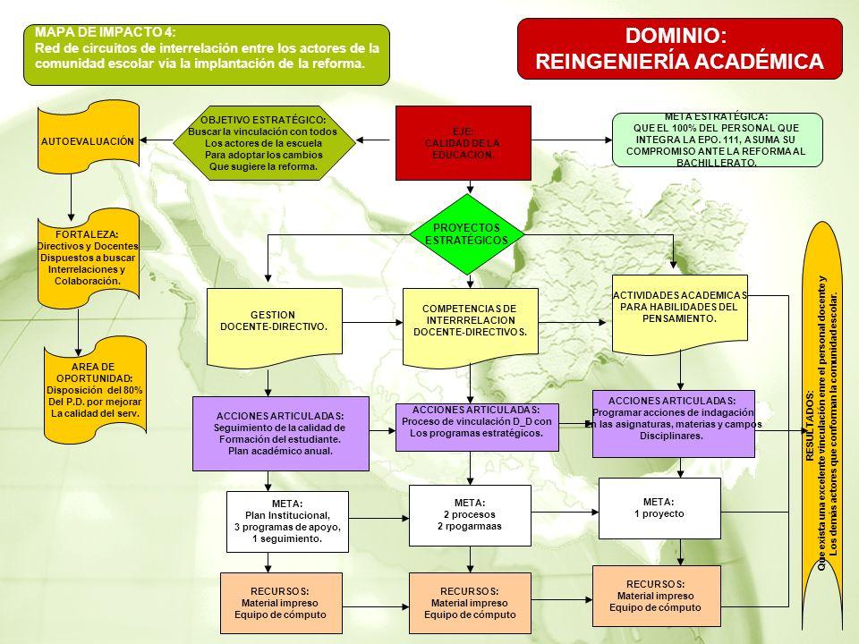 DOMINIO: REINGENIERÍA ACADÉMICA