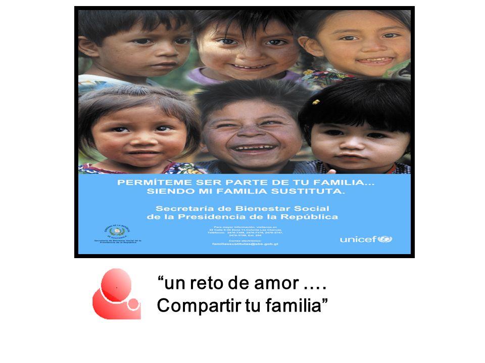 un reto de amor …. Compartir tu familia