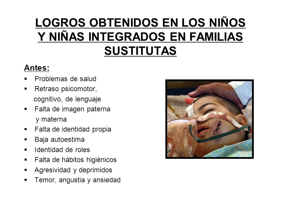 LOGROS OBTENIDOS EN LOS NIÑOS Y NIÑAS INTEGRADOS EN FAMILIAS SUSTITUTAS