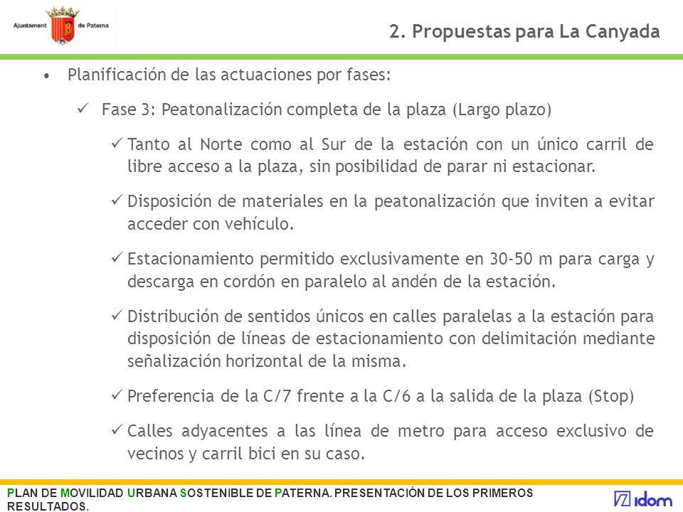 2. Propuestas para La Canyada
