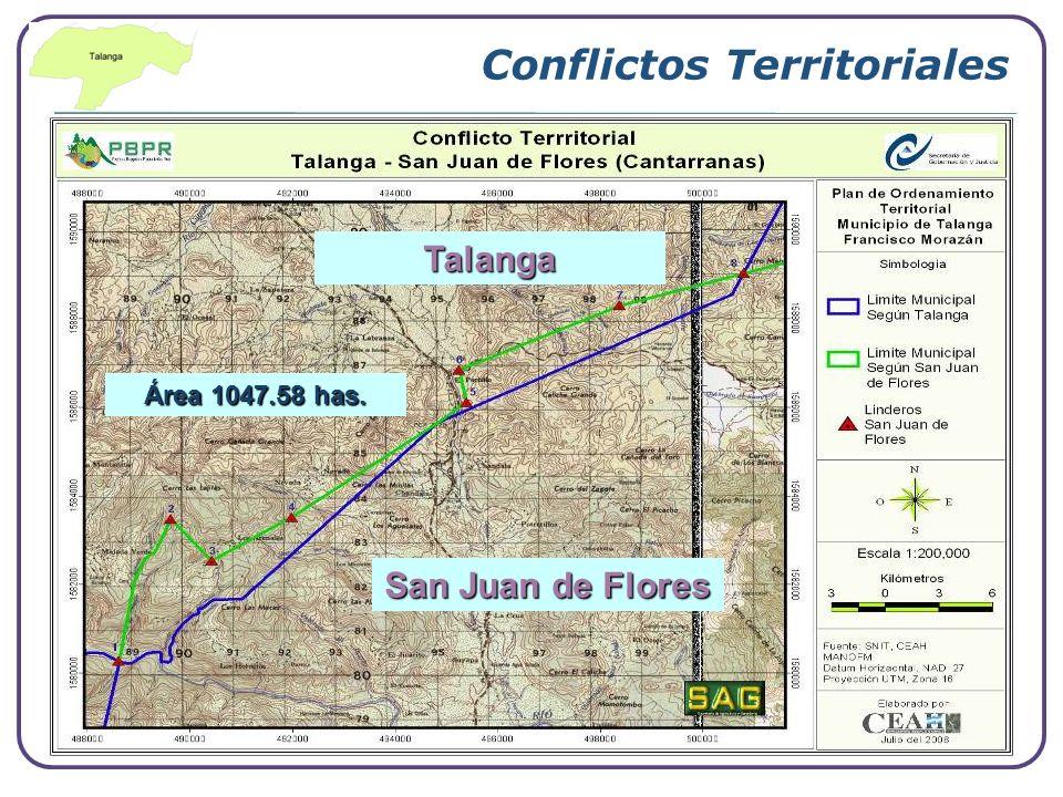 Conflictos Territoriales