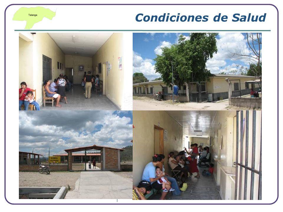 Condiciones de Salud Tasa de Desnutrición 32.9%
