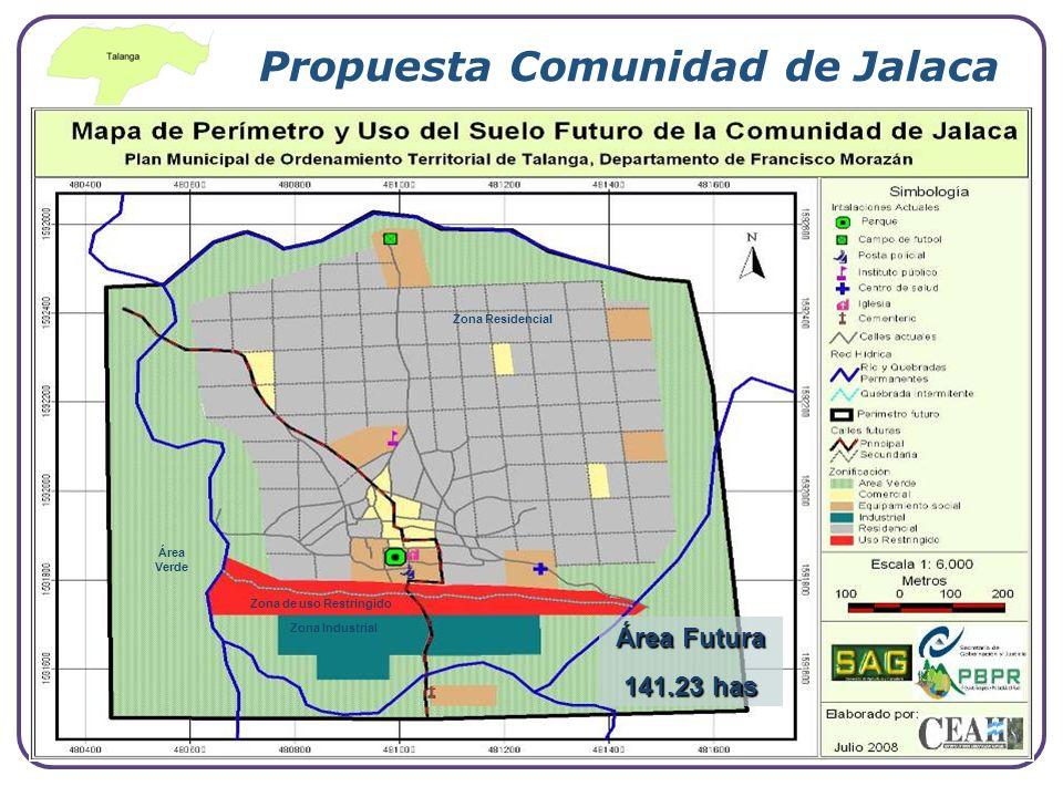 Propuesta Comunidad de Jalaca