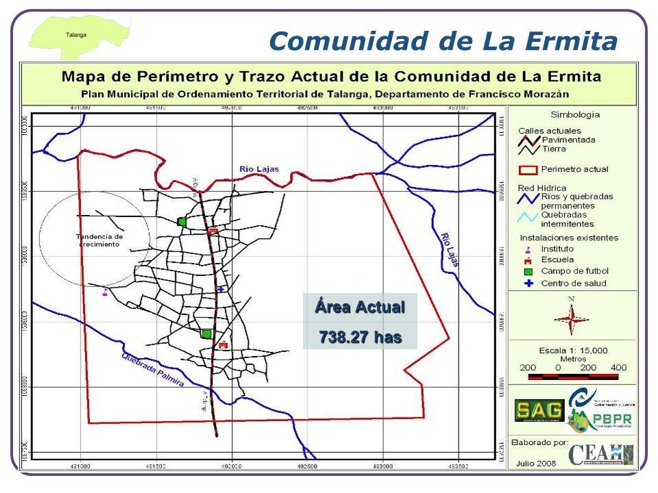 Comunidad de La Ermita Área Actual 738.27 has www.themegallery.com