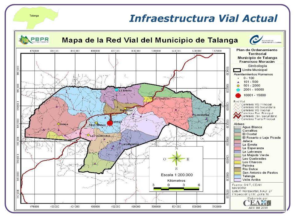Infraestructura Vial Actual