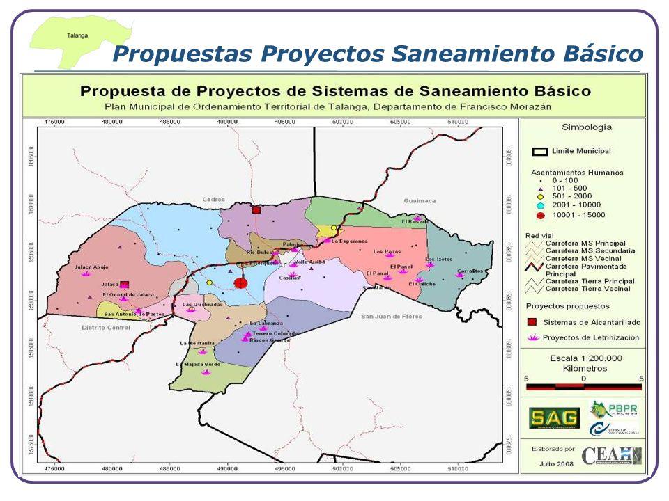 Propuestas Proyectos Saneamiento Básico